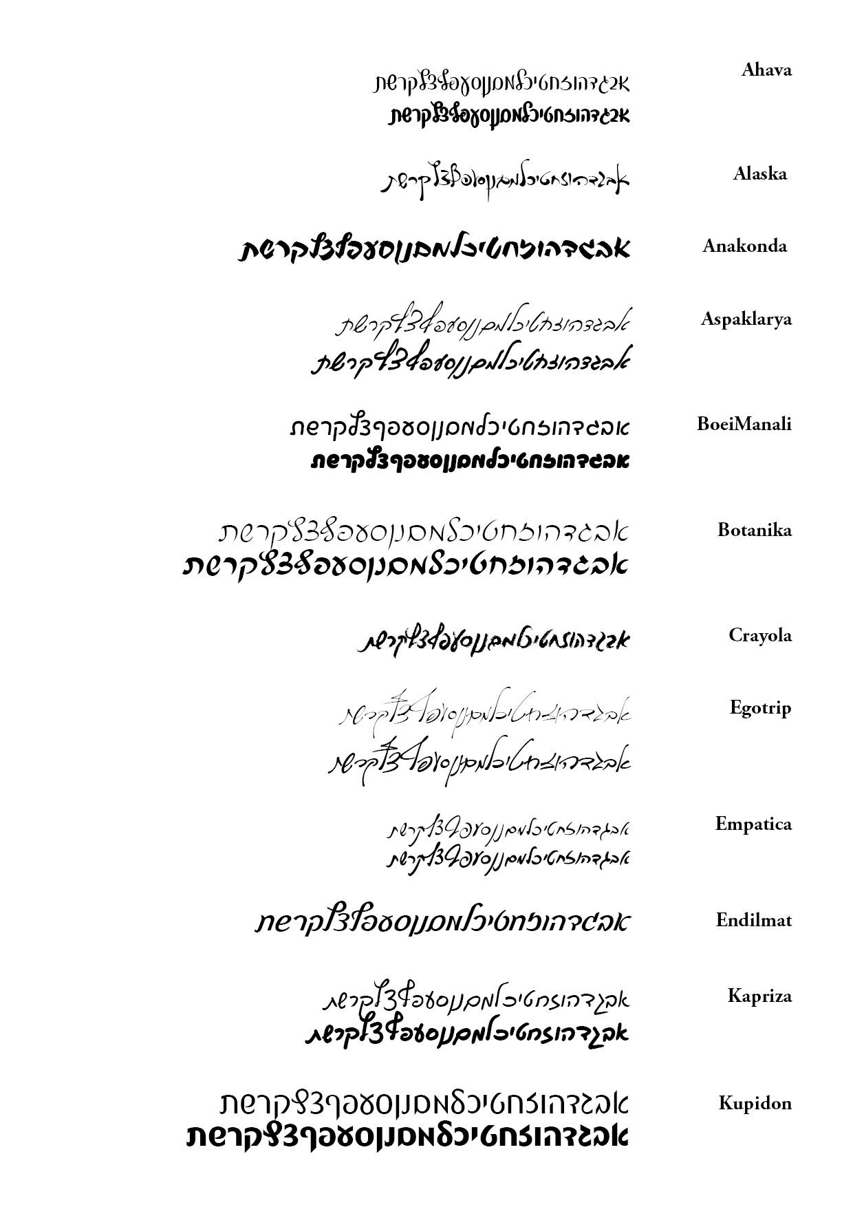 כתב יד 1